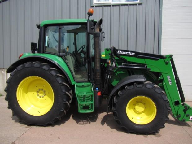 John Deere 6115m 06 2013 585 Hrs Parris Tractors Ltd