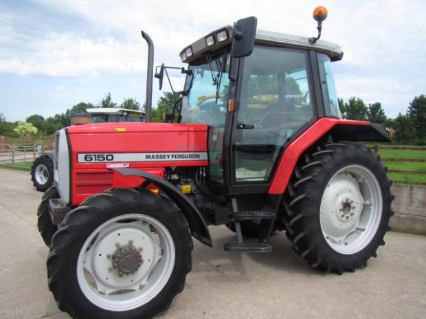 Massey Ferguson 6150 08 1998 2 540 Hrs Parris Tractors Ltd