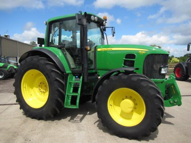 john deere 7530 10 2011 977 hrs parris tractors ltd