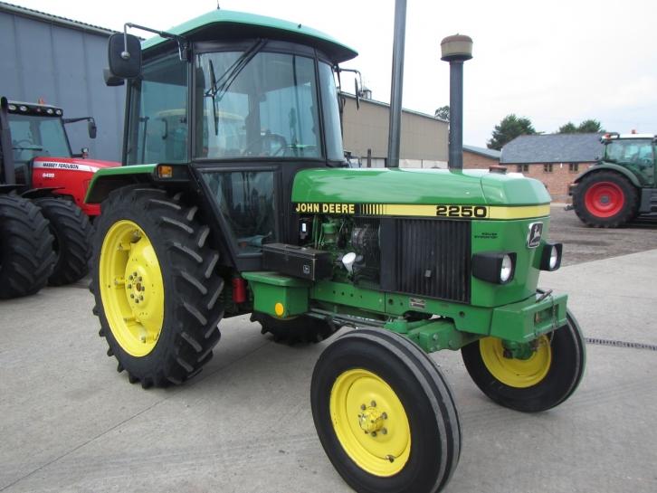 john deere 2250 1991 2 927 hrs parris tractors ltd