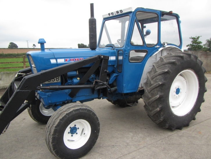 1972 Ford 5000 Tractor Parts : Ford loader autos post