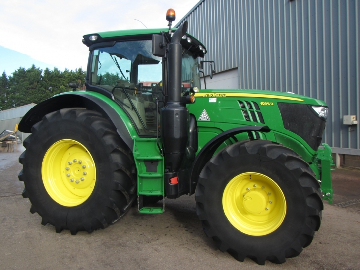 John Deere 6195r 07 2015 1 855 Hrs Parris Tractors Ltd