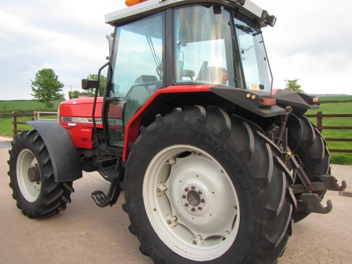 Massey Ferguson 6160, 1996, 5,581 hrs | Parris Tractors Ltd