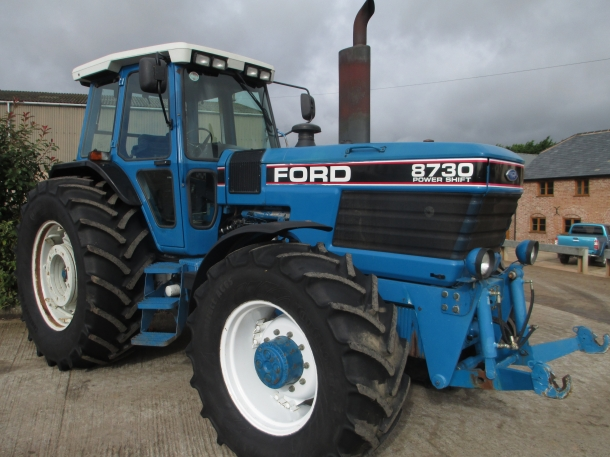 Ford Powershift Transmission >> Ford 8730, 09/1993, 6,290 hrs | Parris Tractors Ltd
