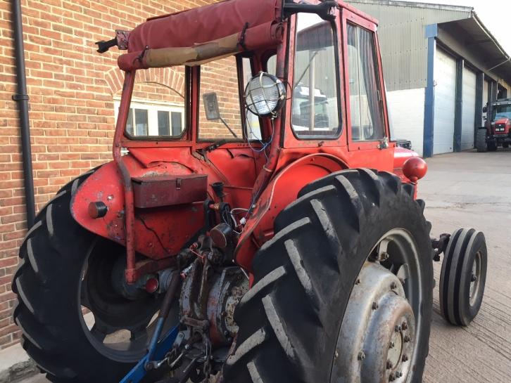 Massey Ferguson 65, 1963, 7,239 hrs   Parris Tractors Ltd