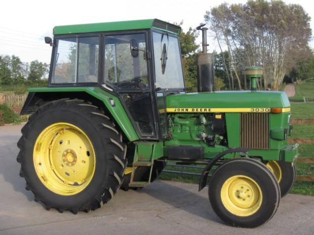 John Deere 3030, 1978, 5,825 hrs | Parris Tractors Ltd