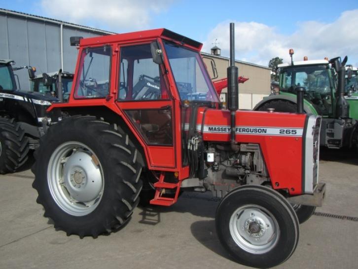 Ram Price >> Massey Ferguson 265, 1985, 2,597 hrs   Parris Tractors Ltd