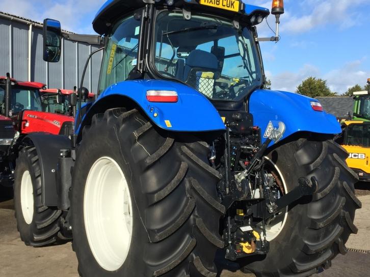 New Holland T7 190, 03/2018, 680 hrs | Parris Tractors Ltd